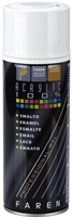 ACRYLIC PAINT SPRAY IN RAL COLOURS FAREN RAL9010 SATINE