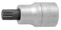 "UNIOR 192/2ZX Screwdriver socket 1/2"" 8 with ZX pr"